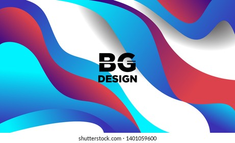 Vector Background With The Form Of Colorful And Elegant Gradient Layer. Vector EPS .10 -