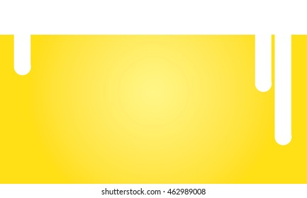 vector background of a glass of beer with blank copyspace