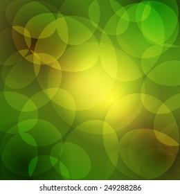Vector background. Glowing lights design