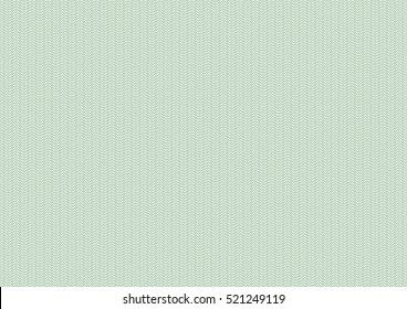 Vector background - green pattern. Texture  for certificate, voucher, banknote, money design, currency, note, check, ticket, reward etc. Eps 10.
