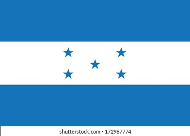 vector background of honduras flag