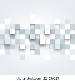 Vector background. Illustration of abstract texture with squares. Pattern design for banner, poster, flyer, cover, brochure.