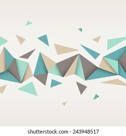 Vector background. Illustration of abstract texture with triangles. Pattern design for banner, poster, flyer, card, postcard, cover, brochure.