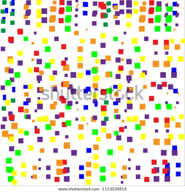 Vector Background Illustration Abstract Texture Squares | Abstract ...
