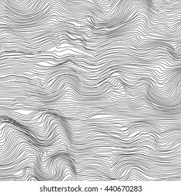 Vector background with lines. Abstract striped illustration