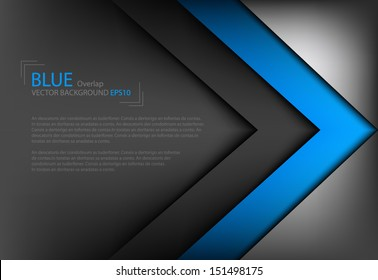 vector background overlap dimension modern line bar design for text and message website design , vector