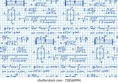 Mathematics Formula Images, Stock Photos & Vectors