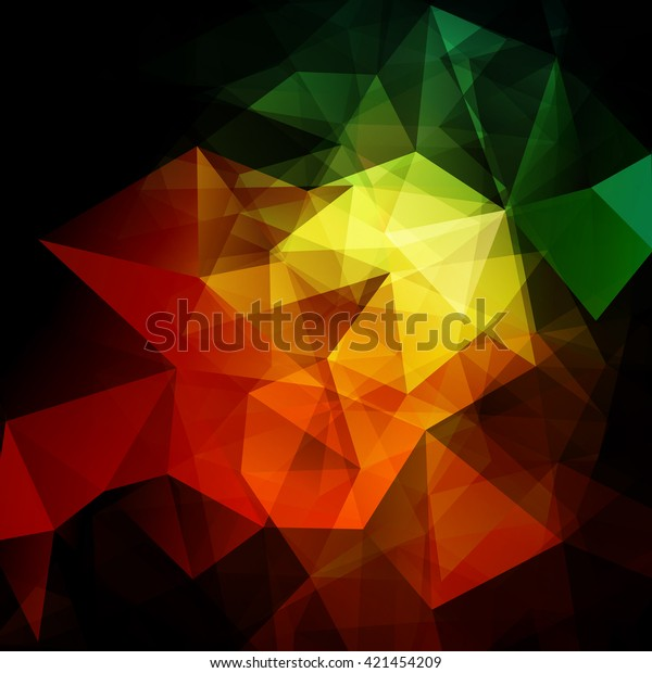 Vector Background Polygons Abstract Background Wallpaper