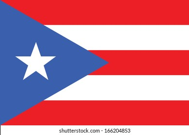 vector background of Puerto Rico flag