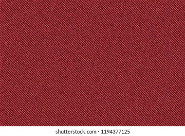 vector background of red jeans denim texture