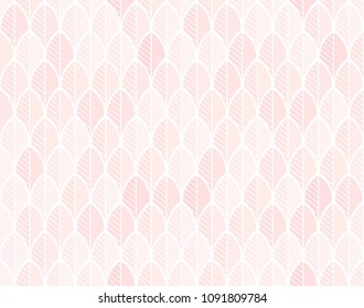 Vector background in rose nude and skin tones. Seamless pattern. Can be used in perfumery, cosmetic and beauty industry.