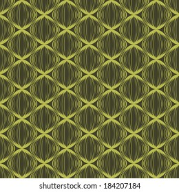 vector background,  seamless pattern with  green-yellow  elements