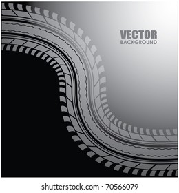 vector background - special tire design