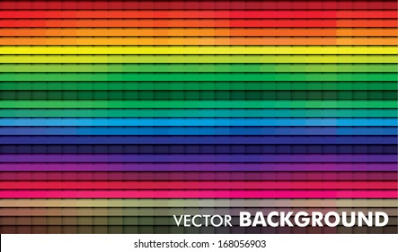 Vector background with spectrum color effect, eps10