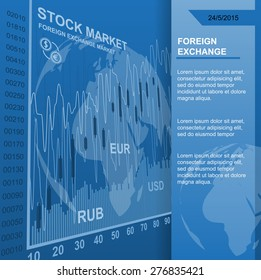 vector background stock market news stock quotes