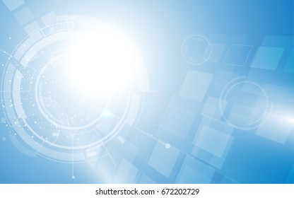 vector background technology network telecommunication concept