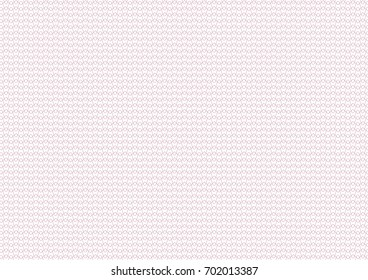 Vector background - texture zig zag. Use for certificate, voucher, banknote, voucher, money design, currency, note, check, ticket, reward etc. Eps 10.