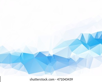 vector background with triangles and polygon