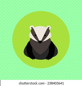 Vector badger