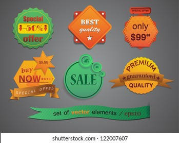 Vector badges for your design