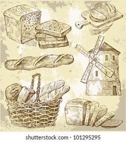 vector bakery seamless
