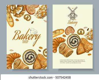 Bakery Banner Images, Stock Photos & Vectors | Shutterstock