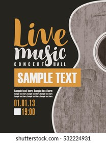 Concert Poster Stock Images Royalty Free Images Amp Vectors