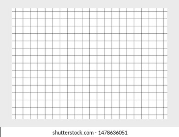 A vector based flash card with checkered lines.
