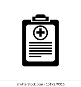 Vector based medical record icon design