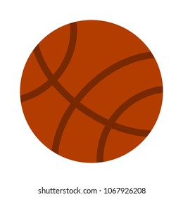 vector Basket ball - vector basketball isolated, sport symbol - play game