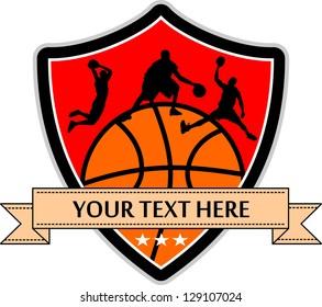 vector of a basketball