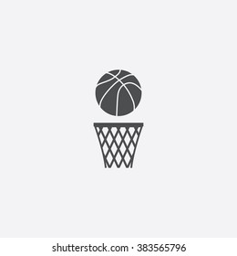 Vector basketball Icon