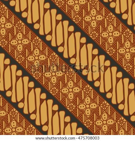 Vector Batik Pattern Indonesia Stock Vector Royalty Free 60 New Batik Pattern