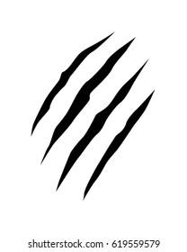Vector Bear Claw Mark