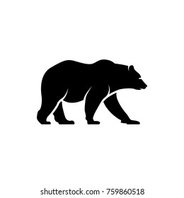vector bear silhouette