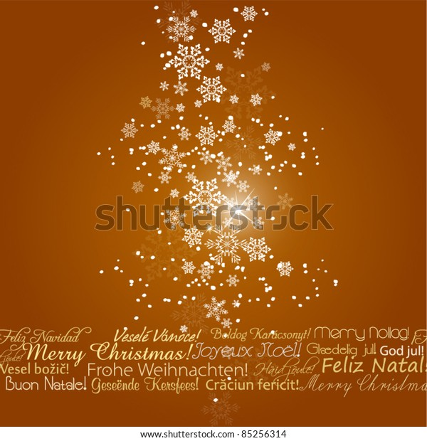 Beautiful Christmas Background Design.Vector Beautiful Christmas Background Your Greeting Stock
