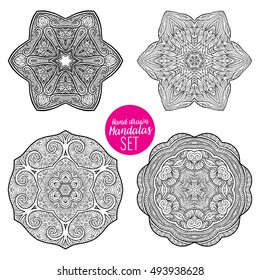 vector beautiful deco mandala set 260nw