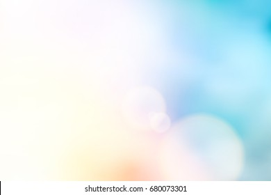 vector beautiful natural style of life. sunrise glitter lens flare, soft bokeh nature background, illustration light pastel sweet color filter abstract simplicity for advertising products background