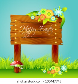 vector beautiful nature background with space for your text