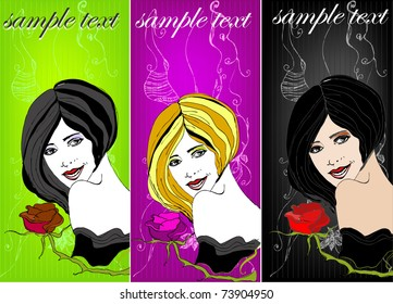 vector beautiful price tags