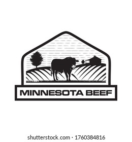 VECTOR BEEF FOR BUSINESS LOGO