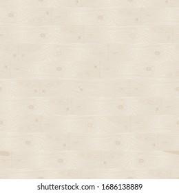 Vector Beige Parquet Seamless Pattern Background. Wooden Floor Illustration.