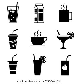 Vector Beverage Icons
