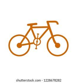 vector Bicycle icon, vector Bicycle illustration - sport symbol
