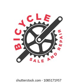 Vector bicycle label