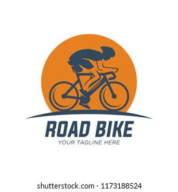 Vector bicycle labels, badges and design elements, Cycle race. Sport emblem.