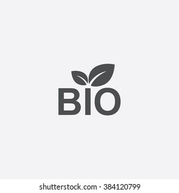 Vector bio Icon