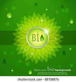 Vector biofuel background.