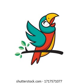 vector bird for print and business brand needs.
