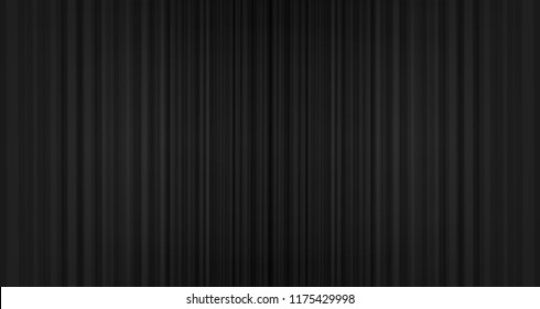 Vector black curtain background,modern stye.